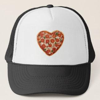 Boné pizza dada forma coração