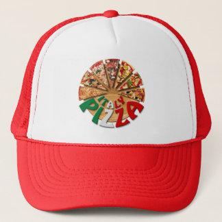 Boné Pizza de Italia do chapéu no conselho de corte