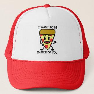 Boné Pizza dentro de você