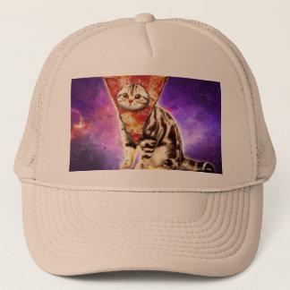 Boné Pizza do gato - espaço do gato - memes do gato