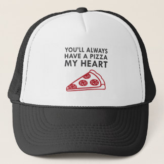 Boné Pizza meu coração