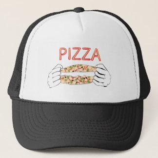 Boné Pizza saboroso dos desenhos animados e Hands3