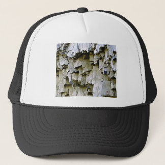Boné plissados aleatórios da rocha