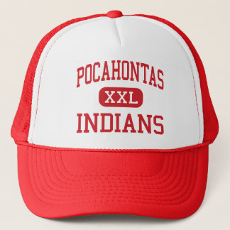 Boné Pocahontas - indianos - área - Pocahontas Iowa