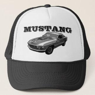 Boné Poder mecânico do mustang