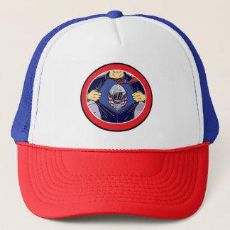 Boné polícia do chapéu do camionista dos heróis da