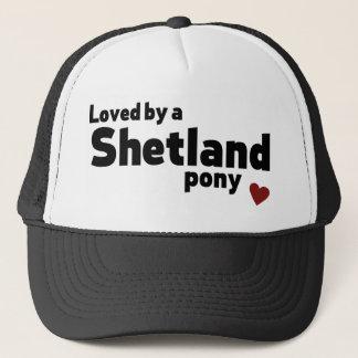 Boné Pônei de Shetland