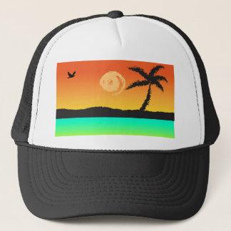 Boné Por do sol da ilha