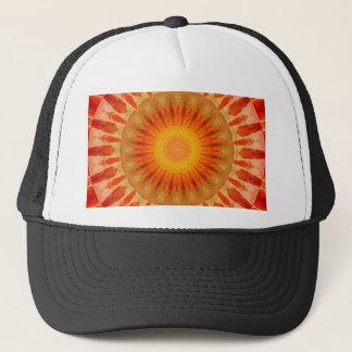 Boné Por do sol da mandala