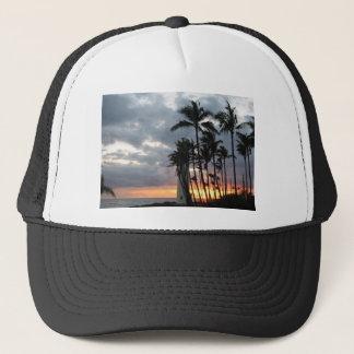 Boné Por do sol em Havaí