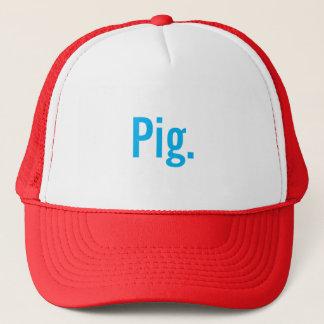 """Boné """"Porco."""" Chapéu do camionista"""