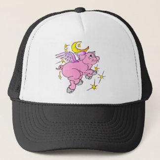 Boné Porco cor-de-rosa #003 do vôo