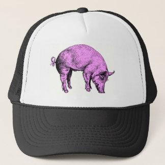 Boné Porco cor-de-rosa gordo grande