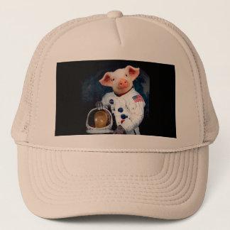 Boné Porco do astronauta - astronauta do espaço