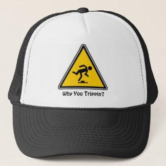 Boné Porque você chapéu do Trippin'?