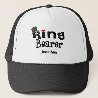 Boné Portador de anel do chapéu alto