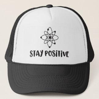 Boné Positividade científica engraçada positiva da