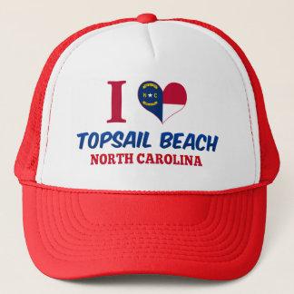 Boné Praia de Topsail, North Carolina