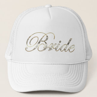 Boné Prata da noiva