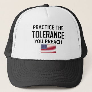 Boné Pratique a tolerância que você Preach