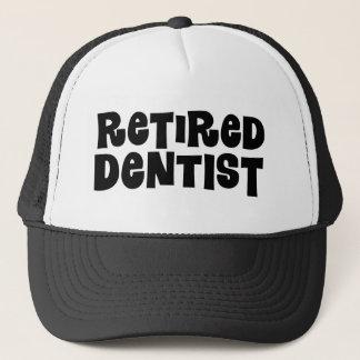Boné Presente aposentado do dentista