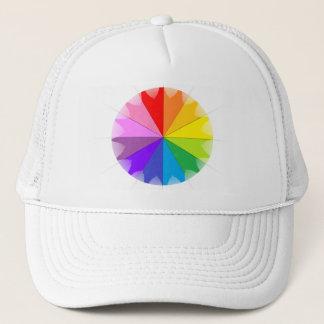 Boné Presentes do arco-íris de Colorwheel