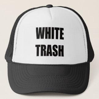 Boné Presentes engraçados dos t-shirt do lixo branco