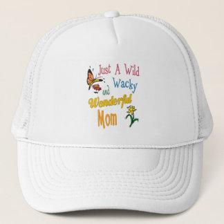 Boné Presentes maravilhosos malucos selvagens da mamã