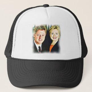 Boné Presidente Bill Clinton & presidente Hillary