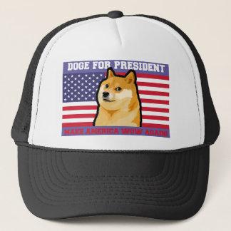 Boné Presidente do Doge - doge cão-bonito do