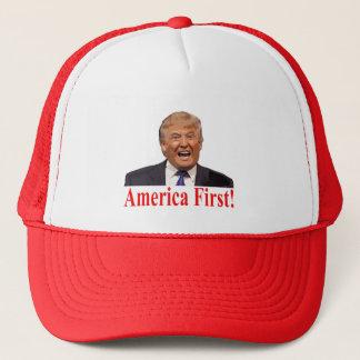 Boné Presidente Trunfo: América primeiramente!