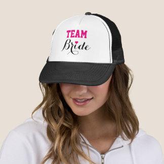 Boné Preto do chapéu do camionista do coração do rosa