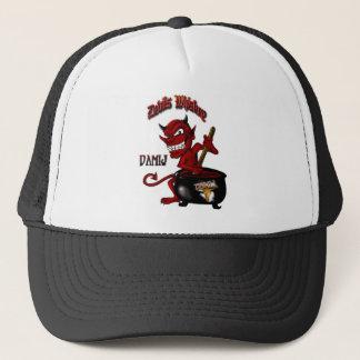 Boné Preto do chapéu do uísque dos diabos