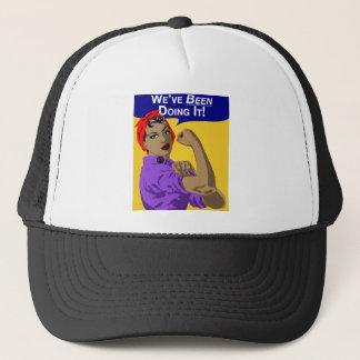 Boné Preto Rosie-nós temo-lo feito - chapéu