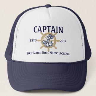 Boné Primeiro companheiro capitão personalizado do