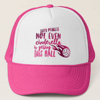 Boné Princesa Camionista Chapéu do voleibol