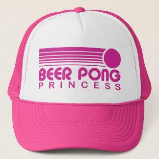 Boné Princesa de Pong da cerveja