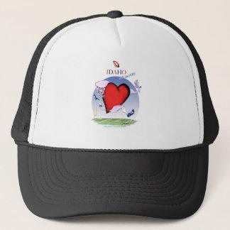 Boné Principais de Idaho e coração, fernandes tony