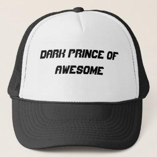 Boné Príncipe escuro do chapéu oficial