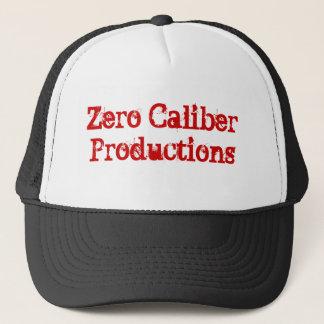 Boné Produções zero do calibre