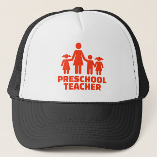 Boné Professor pré-escolar