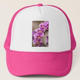 Boné Profundamente - corrente de flor cor-de-rosa da