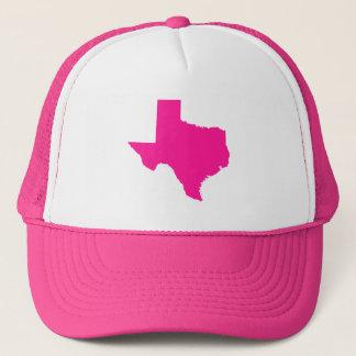 Boné Profundamente - forma cor-de-rosa de Texas