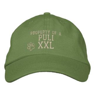 Boné Propriedade de um chapéu bordado Puli