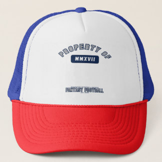 Boné Propriedade do chapéu do futebol da fantasia