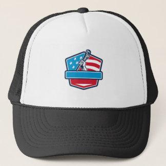 Boné Protetor da bandeira dos EUA da chave de tubulação