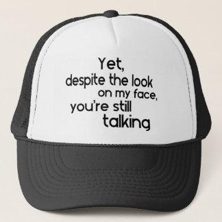 Boné Provérbio original do humor engraçado