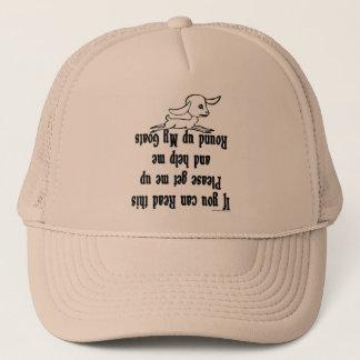 Boné Provérbios engraçados da cabra