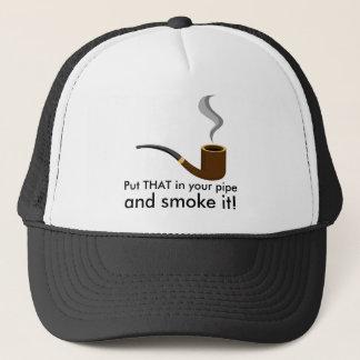 Boné Psto isso em sua tubulação e fume-a