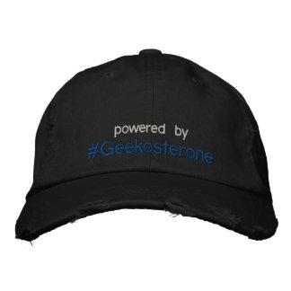 Boné psto pelo chapéu do #Geekosterone